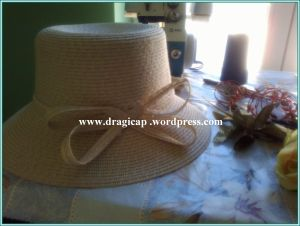 šešir žuti bez mašne