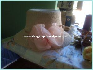 šešir žuti  početni izgled