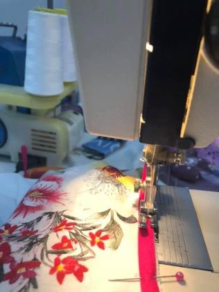 kineska haljina -sivenje